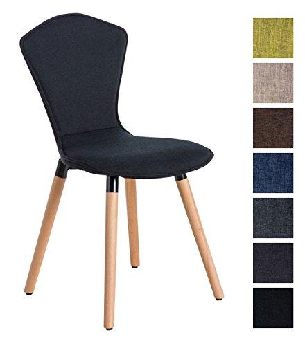clp hochlehner polsterstuhl esszimmer stuhl felice natura holz gestell stoffbezug retro. Black Bedroom Furniture Sets. Home Design Ideas
